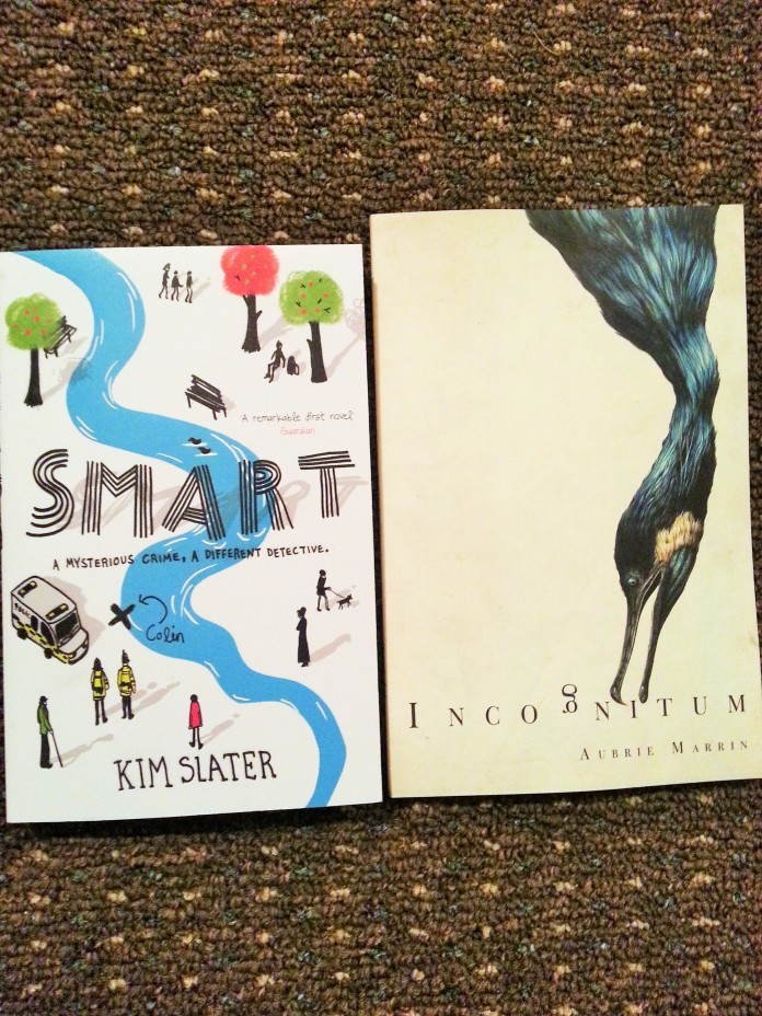Smart and Incognitum definitely win my choice of best cover designs!